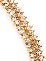 Polki Indian Anklet / Payal YAWP04459 Indian Jewellery