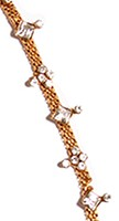 Delicate Indian Anklet / Payal YGWC04466 Indian Jewellery