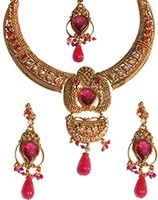Indian Necklace Set NAPP04617 Indian Jewellery