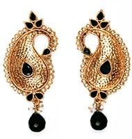 Large Paisley Studs EABP03882 Indian Jewellery