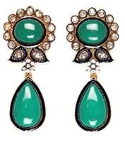 Leena Earrings EGGP03891 Indian Jewellery