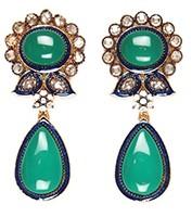 Leena Earrings EGGP03892 Indian Jewellery