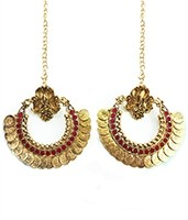 RAM LEELA Inspired Earrings EARP04105 Indian Jewellery