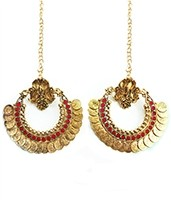 RAM LEELA Inspired Earrings EARP04106 Indian Jewellery