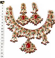 Necklace Set NGAP02558 Indian Jewellery