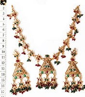 Necklace Set NGAP02559 Indian Jewellery