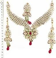 Kundan Necklace Set NGAK02566 Indian Jewellery