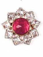 Small Flower Ring RSPA10324 Indian Jewellery