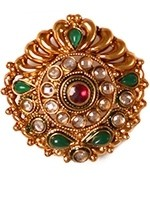 Large Rajhasthani ring AEGP10921 Indian Jewellery