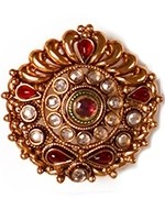Large Rajhasthani ring AERP10922 Indian Jewellery