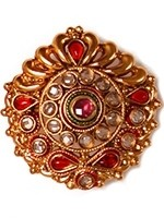Large Rajhasthani ring AERP10923 Indian Jewellery