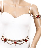 KAYA Saree Belt and Bajuband Set LARK0617C Indian Jewellery