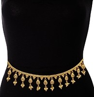 22k Gold Plated Pretty Saree Belt LEWA11400 Indian Jewellery